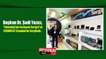 """Başkan Dr. Şadi Yazıcı, """"Teknoloji'nin Serüveni Sergisi""""ni TEKNOFEST İstanbul'da Sergiledi."""