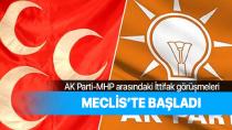 AK Parti ile MHP arasında ittifak görüşmeleri başladı!
