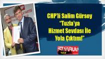 Salim Gürsoy, CHP Tuzla Belediye Başkan Aday Adaylığını açıkladı