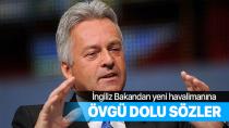 İngiliz Bakandan İstanbul Havalimanı'na övgü dolu sözler