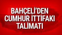 MHP Lideri Devlet Bahçeli'den yerel seçim açıklaması...