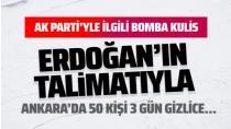 Hadi Özışık açıkladı.Erdoğan'ın talimatıyla Ankara'da gizli toplantılar yapıldı neler konuşuldu. İşte o detaylar...