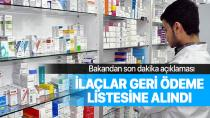Bakan Selçuk açıkladı: 30 ilaç daha geri ödeme listesine alındı