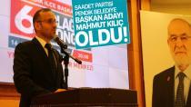 Saadet Partisi Pendik belediye başkan adayı Mahmut Kılıç oldu!