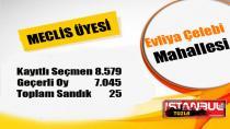 Tuzla Evliya Çelebi Mahallesi 31 Mart 2019 yerel seçimleri meclis üyesi oy dağılımı…