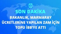 Ulaştırma ve Altyapı Bakanlığı'ndan Marmaray zammına ilişkin açıklama: İBB tarafından uygulanmaktadır