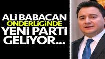 Ali Babacan yeni kuracağı partinin tarihini açıkladı