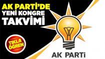AK Parti'de ilçe kongre tarihleri belli oldu...