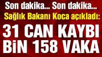 Bakan Koca, Türkiye'deki corona virüsü verilerini açıkladı! (18 Mayıs 2020)