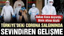 Sağlık Bakanı Fahrettin Koca: Türkiye'de günlük yeni vaka sayısı binin altına indi. (20 Mayıs 2020)