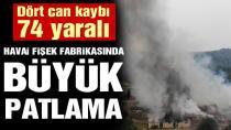 Sakarya'da havai fişek fabrikasında büyük patlama: Dört can kaybı, 97 yaralı