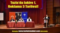 Tuzla'da fakire 1 reklama 3 tarifesi!
