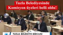 Tuzla Belediyesi Meclis Komisyon üyeleri belli oldu…
