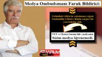 Medya Ombudsmanı Faruk Bildirici: NYT ve Kenya basını bile yazdı ama, bizim medya öğrenemedi!